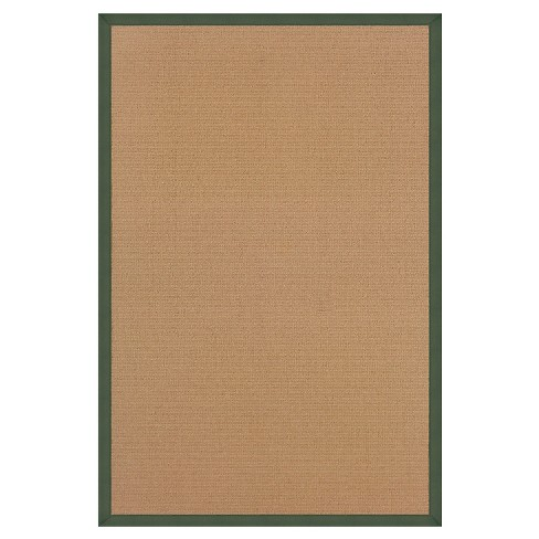 "Athena Wool Area Rug - Green (8'9"" X 12') - image 1 of 1"