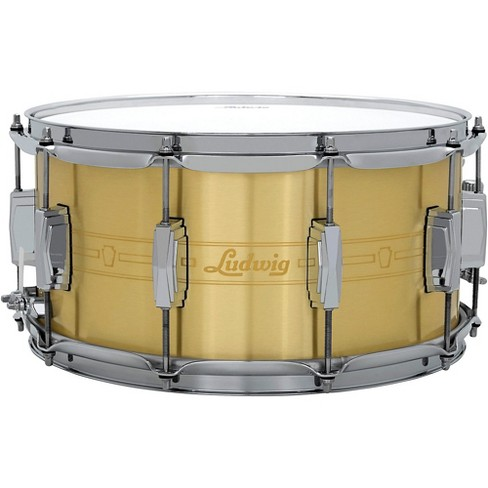 Ludwig Heirloom Brass Snare Drum - image 1 of 4