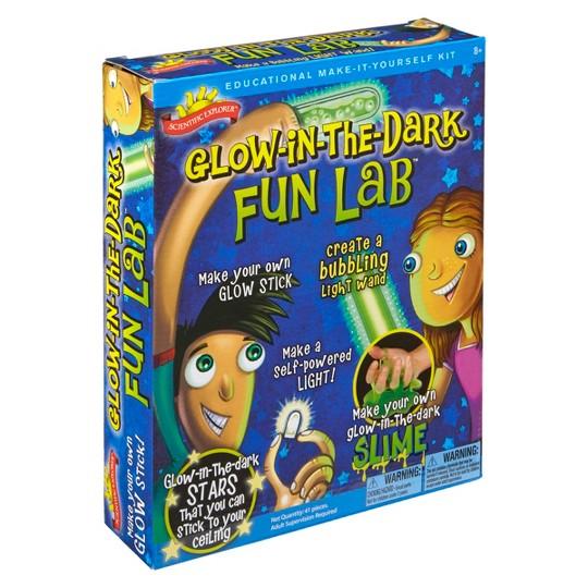 Scientific Explorer Glow in the Dark Fun Lab image number null