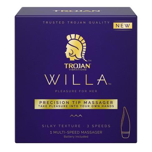 Trojan Willa Precision Tip Massager - image 1 of 4