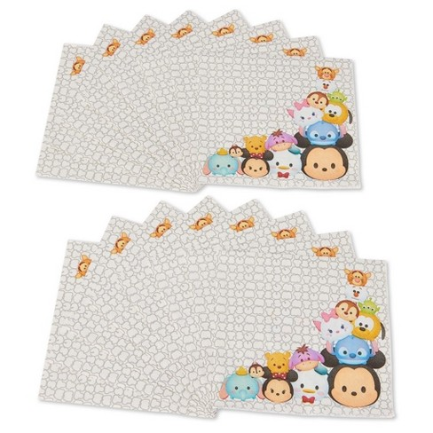 Tsum Tsum Disposable Napkins - 16ct - image 1 of 3
