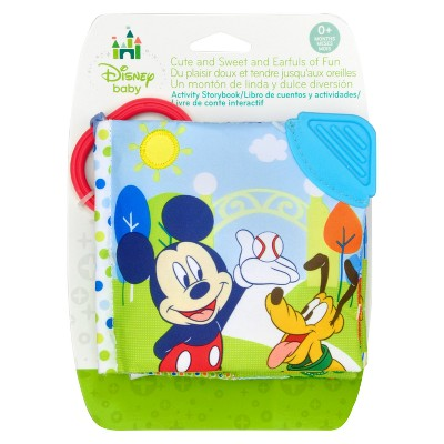 Disney Baby Mickey Mouse Soft Book with Clip - 5