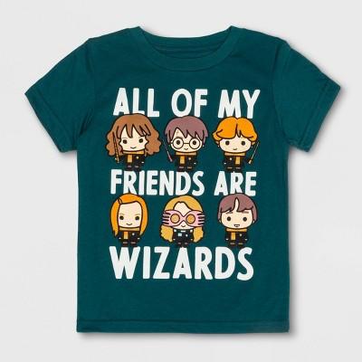 3f773359325d Toddler Boys  Harry Potter Short Sleeve T-Shirt - Green