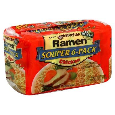 Asian Noodle Soup: Maruchan Ramen