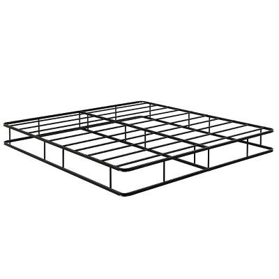 9 Inch Platform Low Profile Bed Frame Steel Slat Mattress Foundation King Size