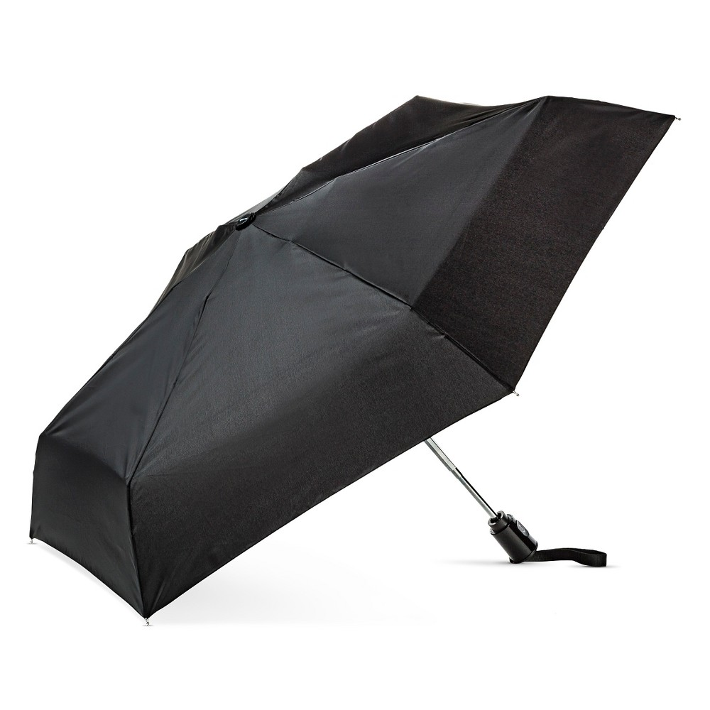 Image of ShedRain Auto Open/Close Compact Umbrella - Black