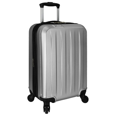Elite 21  Dori Expandable Spinner Suitcase - Silver