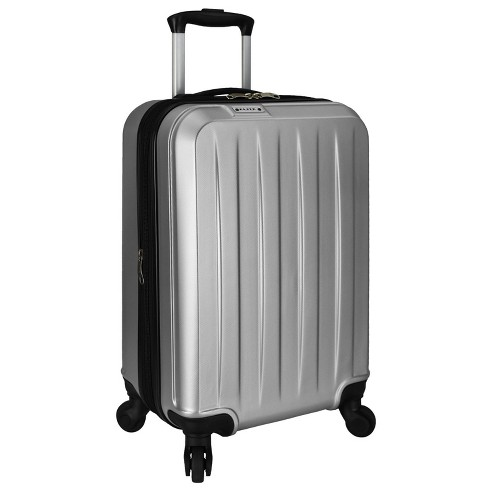 "Elite 21"" Dori Expandable Spinner Suitcase - Silver - image 1 of 5"
