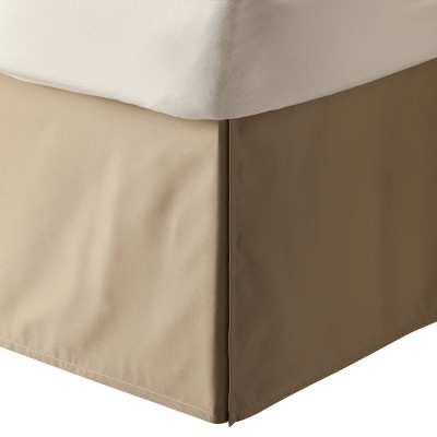 Tan Solid Bed Skirt (King)- Room Essentials™
