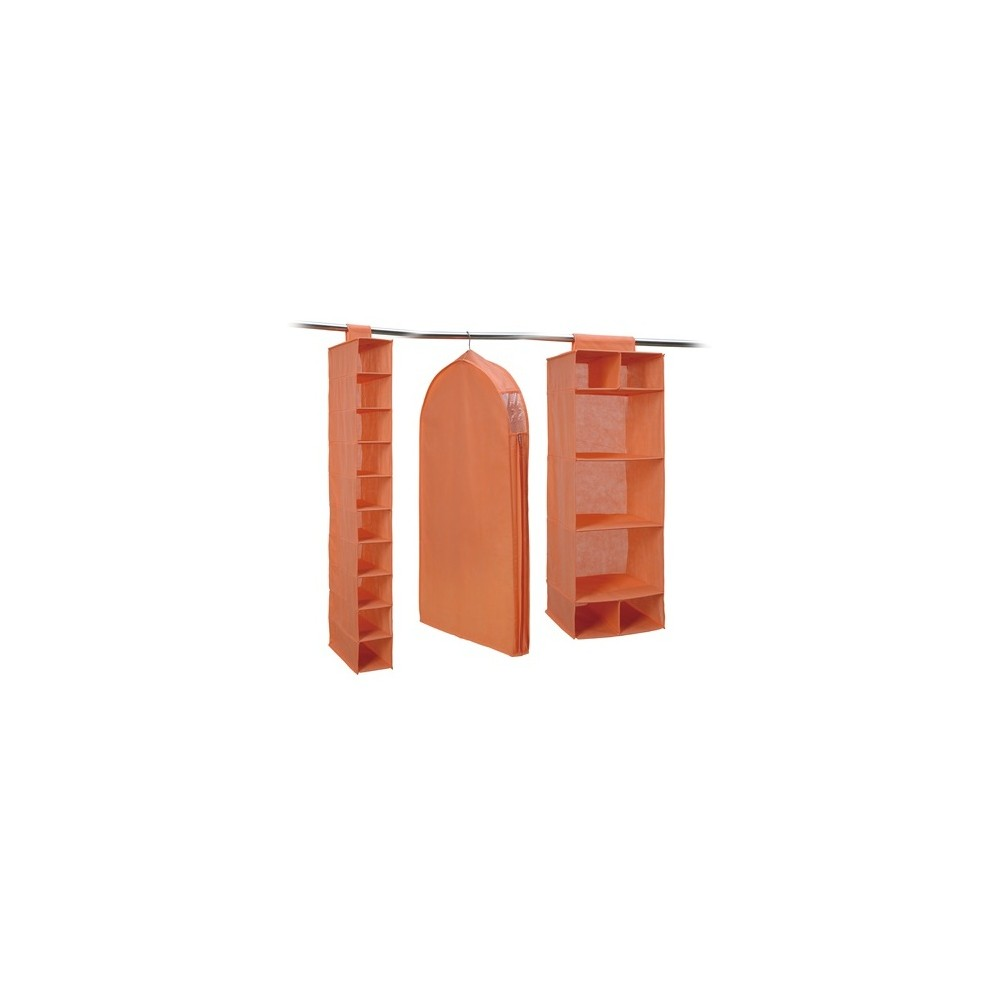 Image of Neu Home Closet Storage 3pc Combo Orange