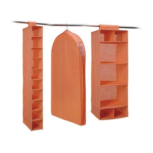Neu Home 3pc Closet Storage Combo Orange - image 1 of 2