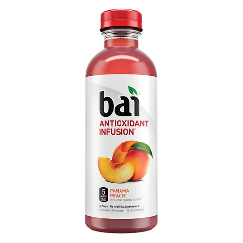 Bai Panama Peach - 18 fl oz Bottle - image 1 of 4