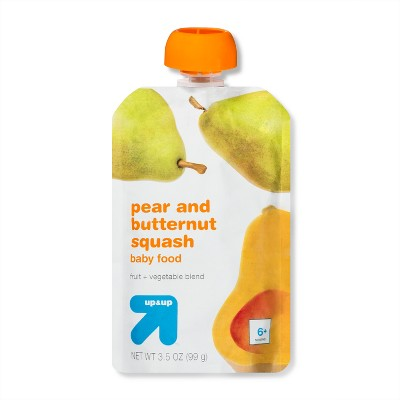 Baby Food Stage 2, Pear Butternut Squash - 3.5oz - Up&Up™