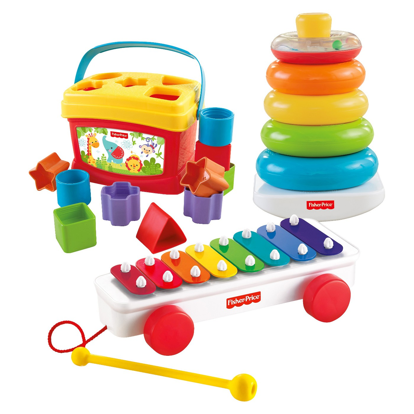 Fisher-Price Classic Infant Trio Gift Set - image 1 of 18