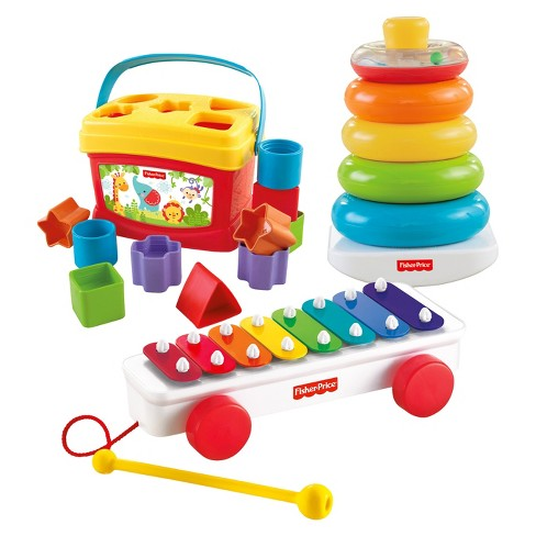 Fisher-Price Classic Infant Trio Gift Set - image 1 of 4