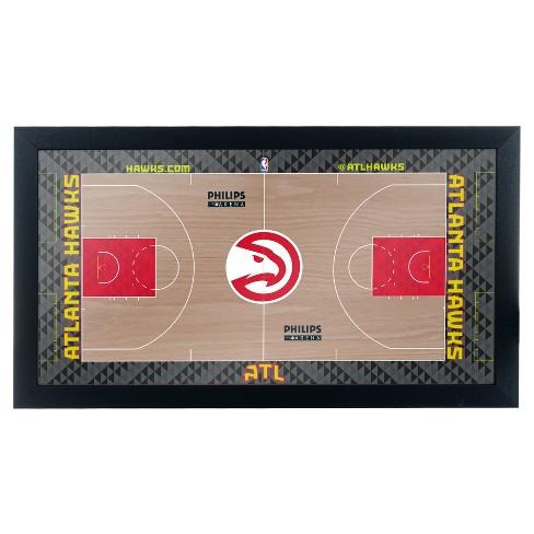 NBA Team Court Framed Plaque - image 1 of 2