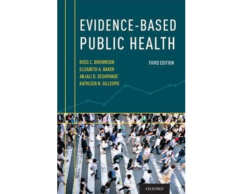 Evidence-Based Public Health (Paperback) - image 1 of 1