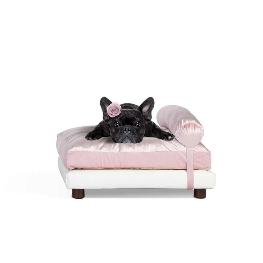 Club Nine Pets Milo Orthopedic Dog Bed M Pink