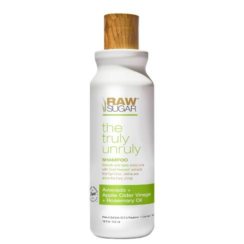 Raw Sugar Shampoo Truly Unruly Avocado + Apple Cider Vinegar + Rosemary Oil - 18 fl oz - image 1 of 4