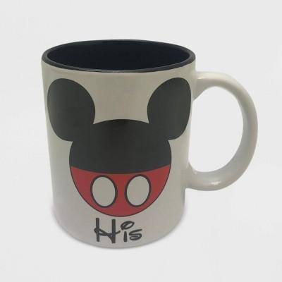 Disney Mickey Mouse 11oz Ceramic His Mug