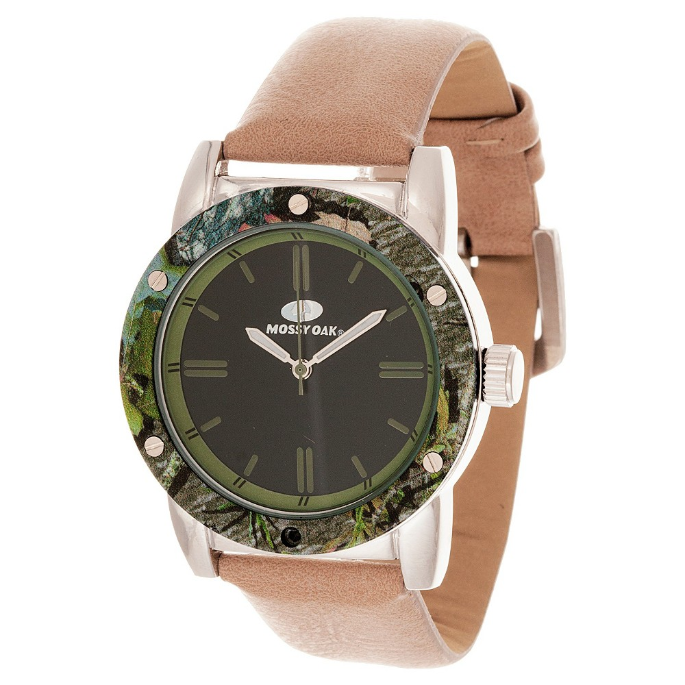 Image of Men's Mossy Oak Analog Watch - Beige, Men's, Size: Small