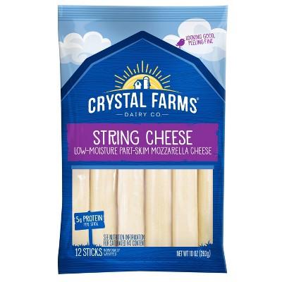 Crystal Farms String Cheese - 10oz