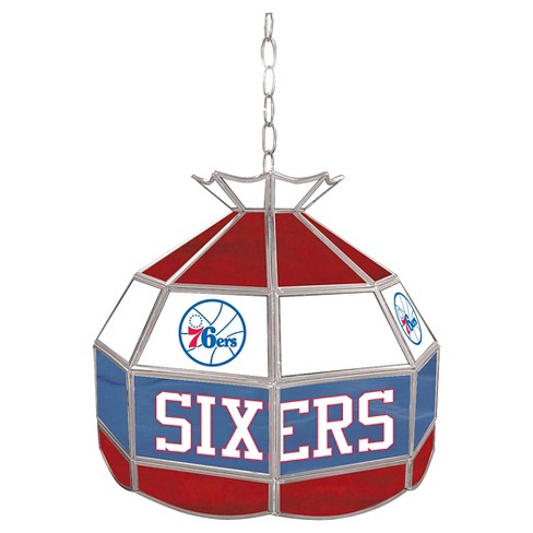 Philadelphia 76ers Tiffany Style Lamp - 16 inch - image 1 of 1