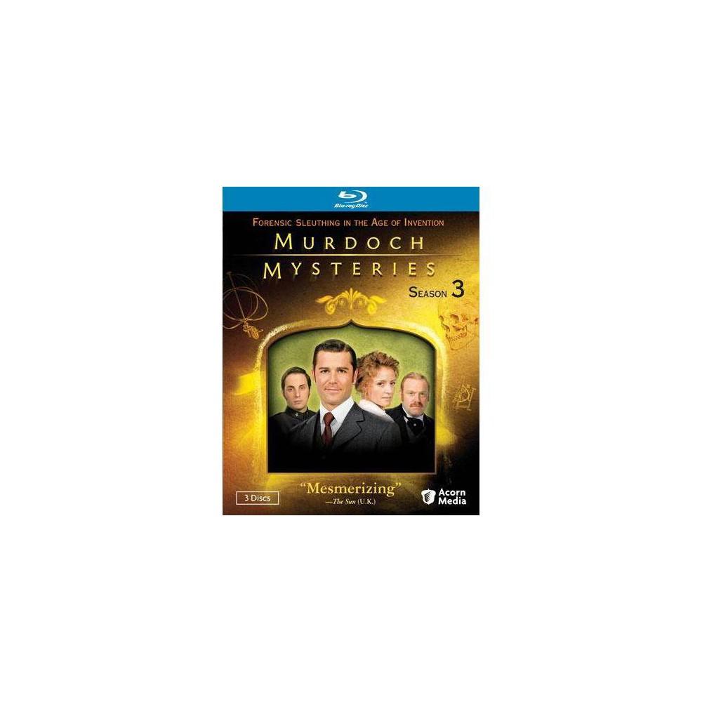 Murdoch Mysteries Series 3 Blu Ray