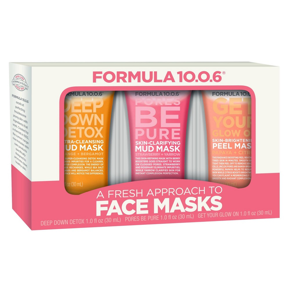 Image of Formula 10.0.6 90 Multi Mask Skincare Set - 3pc