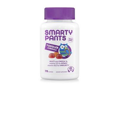 Multivitamins: SmartyPants Toddler Formula