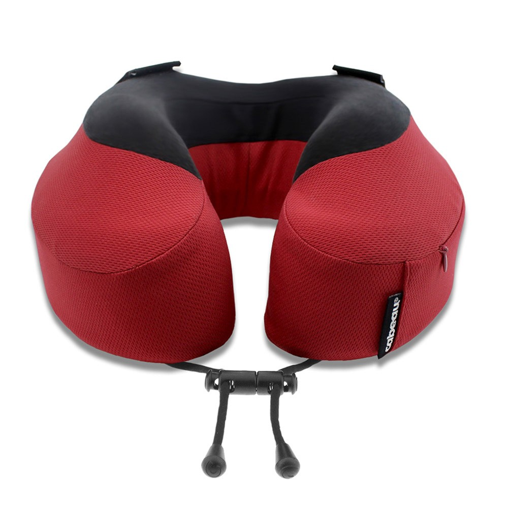 Image of Cabeau Evolution S3 Memory Foam Travel Pillow - Cardinal Red