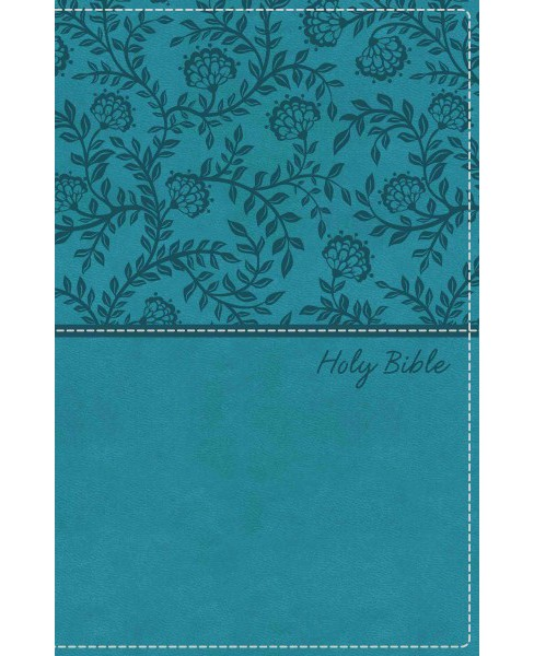 Holy Bible : King James Version, Turquoise, Leathersoft: Red-Letter Edition (Paperback) - image 1 of 1