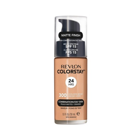 Revlon ColorStay Makeup Foundation for Combination/Oily Skin with SPF 15 Medium Shades - 1 fl oz - image 1 of 4