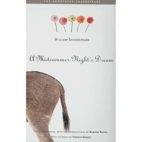 A Midsummer Night's Dream - (Annotated Shakespeare) by  William Shakespeare (Paperback) - image 1 of 1