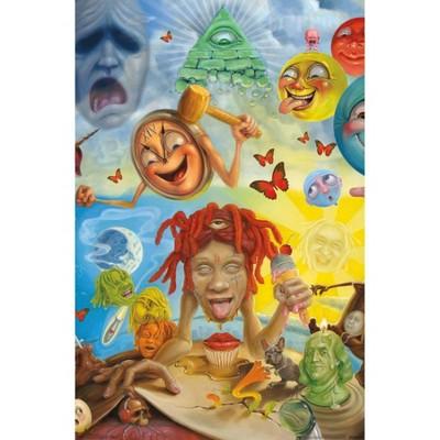 "34"" x 22"" Trippie Redd: Art Unframed Wall Poster - Trends International"