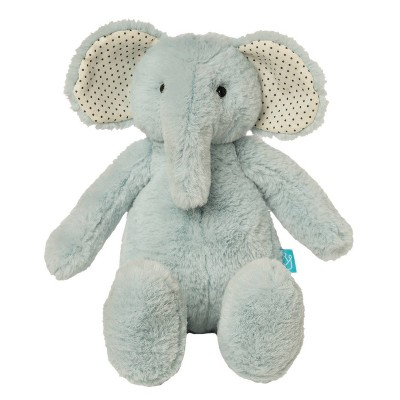 The Manhattan Toy Company Pattern Pals Stuffed Animal - Blue Elephant