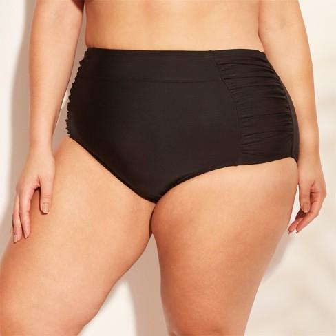 Women's Plus Size High Waist Bikini Bottom - Kona Sol™ - image 1 of 4