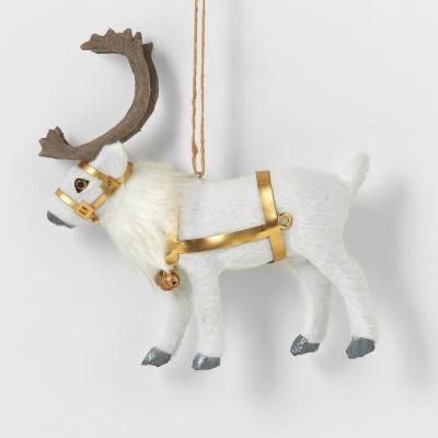 Reindeer with Gold Straps Christmas Tree Ornament - Wondershop™