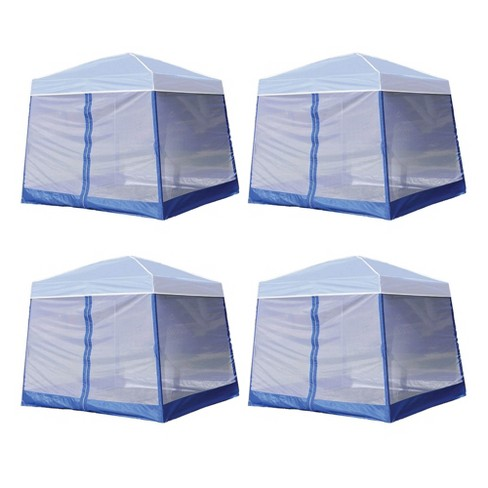 Z-Shade 10 Foot Angled Leg Screenroom Shelter (Canopy Not Included) (4 Pack) - image 1 of 4