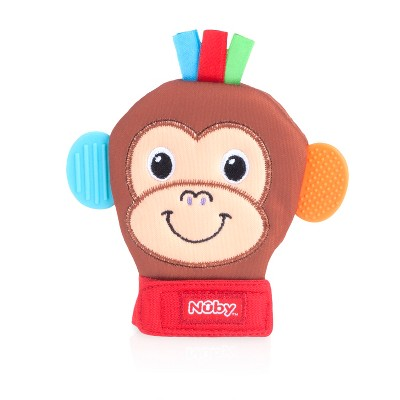 Nuby Animal Teething Mitten - Monkey