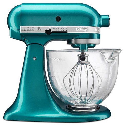KitchenAid Artisan Design Series 5qt Tilt-Head Stand Mixer with Glass Bowl KSM155GB - Closeout - image 1 of 4