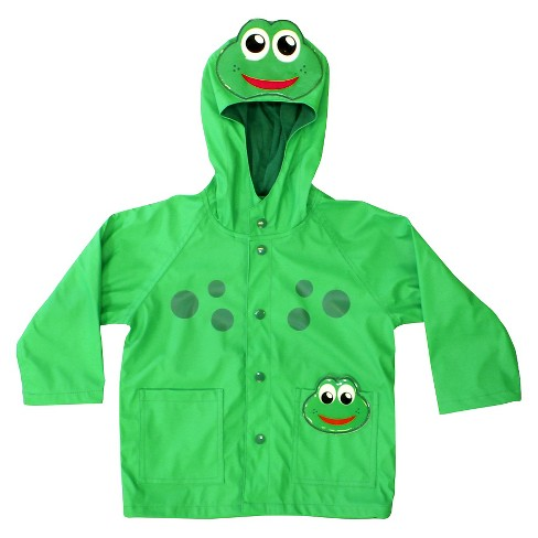 Toddler Boy Frog Rain Coat Green - Western Chief - image 1 of 2