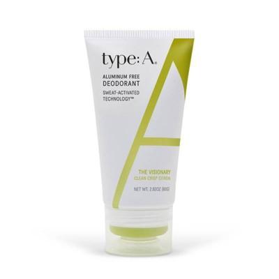 type:A Clean Crisp Citron Deodorant - 2.82oz