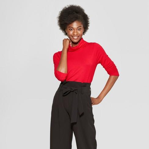3866891d Women's Long Sleeve Funnel Neck Tunic Sweatshirt - A New Day™ : Target