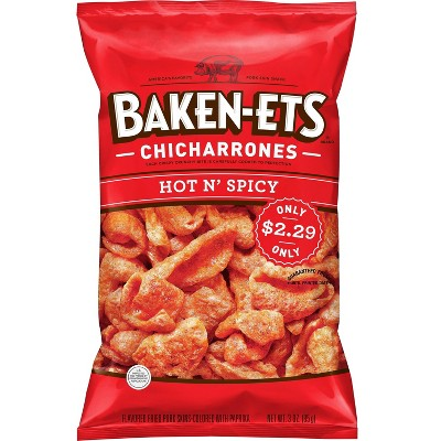 Baken-ets Hot N Spicy Chips 3oz