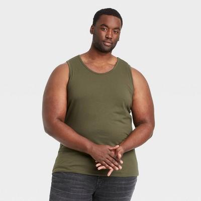 Men's Big & Tall Standard Fit Jersey Tank Top - Goodfellow & Co™