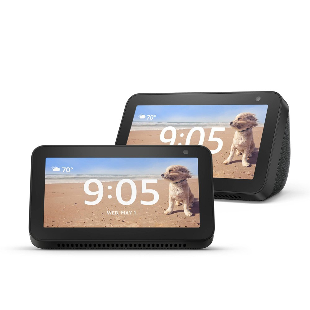 Amazon Echo Show 5 Charcoal - 2 Pack was $179.99 now $119.99 (33.0% off)