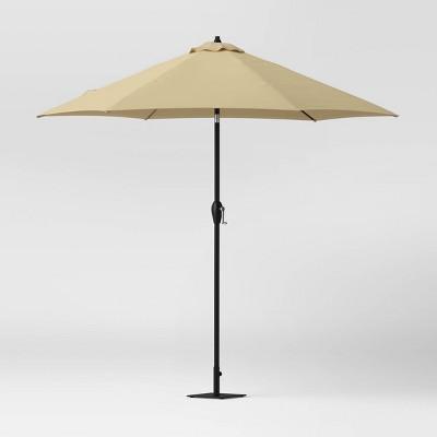 Room Essentials 9 Inch Round Patio Umbrella (Tan)