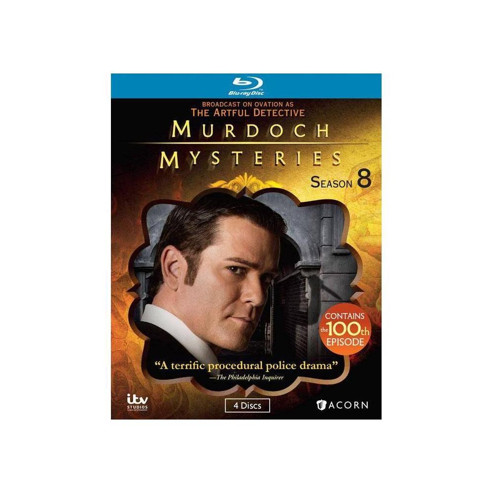 Murdoch Mysteries Series 8 Blu Ray 2015