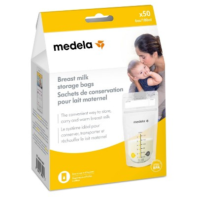 Medela Breast Milk Storage Bags 6oz/180ml - 50ct